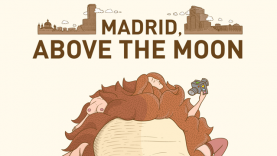 Portada Madrid, above the moon